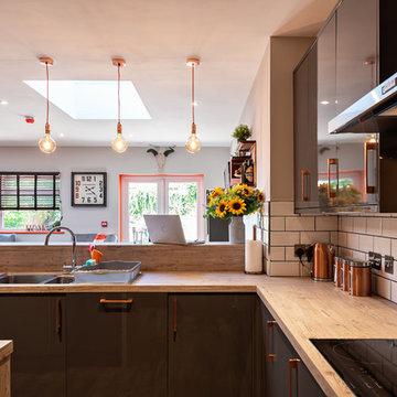 Contemporary Open Plan Kitchen Extension