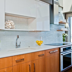 contemporary kitchen by Cassia Wyner, CW Design