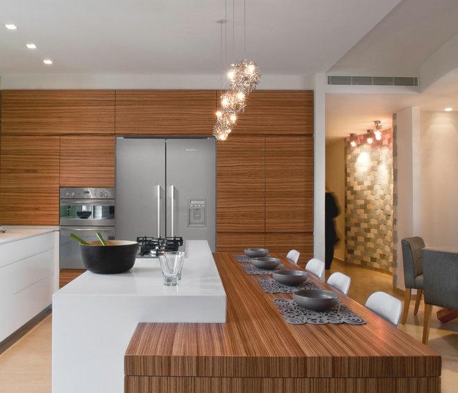 Modern Kitchen by Rinat Cassin