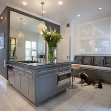 Contemporary Kitchen by LMT Architecture LLC