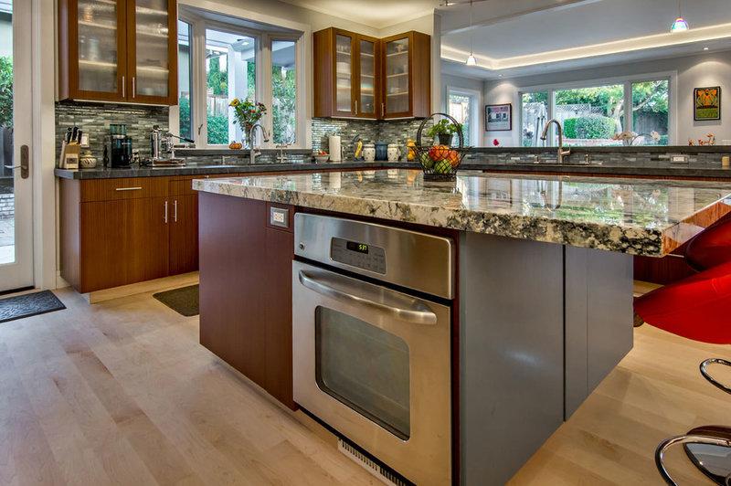 contemporary kitchen by Studio S Squared Architecture, Inc.