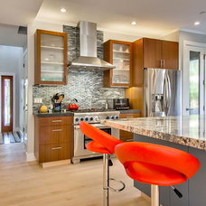 contemporary kitchen by Studio S Squared Architecture, Inc.