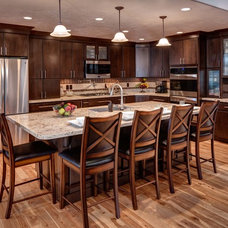 Contemporary Kitchen by Crown Cabinets