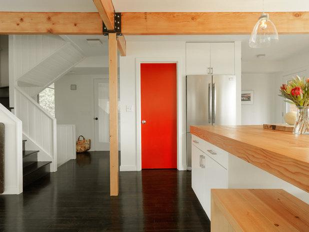 コンテンポラリー キッチン by Elizabeth Herrmann architecture + design