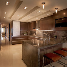 Contemporary Kitchen by Interiors by Steven G