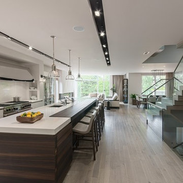 Contemporary Residential Great Room