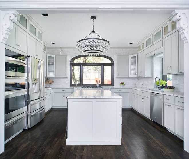 Traditional Kitchen by Schloegel Design Remodel