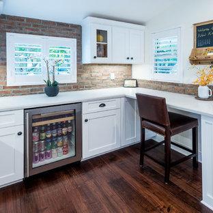 Contemporary Rustic Kitchen Remodel in Burbank, CA