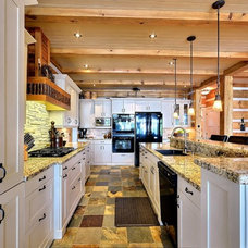 Contemporary Kitchen by Mark and Carol Rodgers