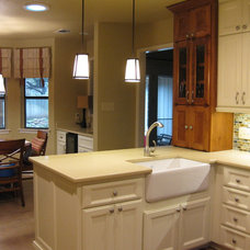 Contemporary Kitchen by Lone Star Remodeling And Renovations