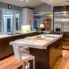 Contemporary Kitchen by Gilmans Kitchens and Baths