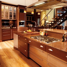 Contemporary Kitchen by Crystal Cabinets