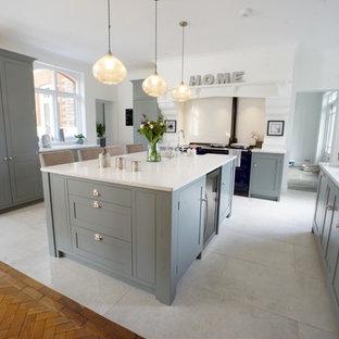 Contemporary Shaker kitchen, Sevenoaks.