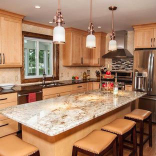 Contemporary Shaker Style Kitchen