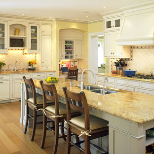 Contemporary Shingle Style Kitchen