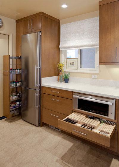 Современный Кухня by KB Cabinets