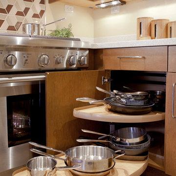 Contemporary Small Kitchen