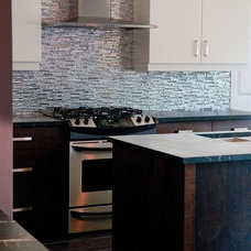 Contemporary Kitchen by Green Mountain Soapstone
