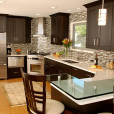 Contemporary Kitchen by Insignia Kitchen and Bath Design Studio