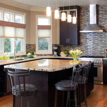 Contemporary Style With Open Layout