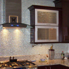 Contemporary Kitchen Contemporary Tile Detail