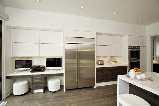 Crea tu oficina o una zona de estudio en la cocina - Crea tu cocina online ...