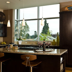 contemporary kitchen by Pangaea Interior Design, Portland, OR
