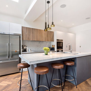 Contemporary Townhouse Kitchen Extension