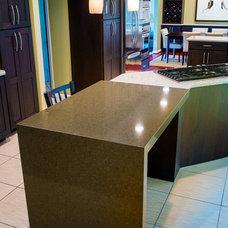 Transitional Kitchen by Borchert Kitchen & Bath