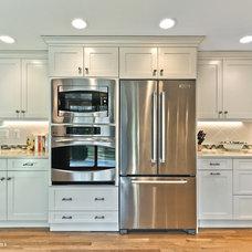 Transitional Kitchen by Divine Design+Build