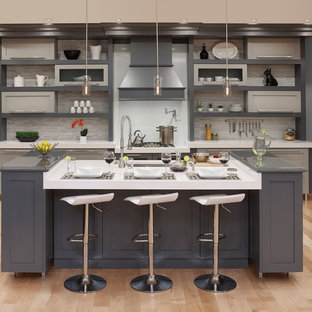 Grey And Beige Tones Kitchen Ideas Photos Houzz