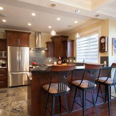 Traditional Kitchen by Kenorah Design + Build Ltd.