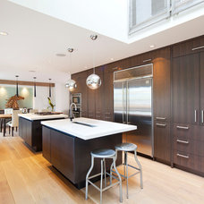 Contemporary Kitchen by Wall to Wall Kitchen and Bath
