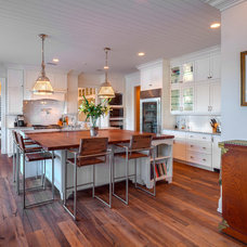 Beach Style Kitchen by The Schimberg Group Inc.