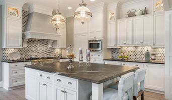 Contemporary White Kitchen & Bath