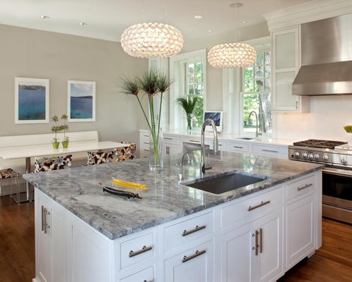 White And Gray Granite