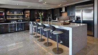 Contemporay Kitchen Remodel - Penthouse Condo