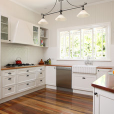 Transitional Kitchen by Kim Duffin for Sublime Architectural Interiors