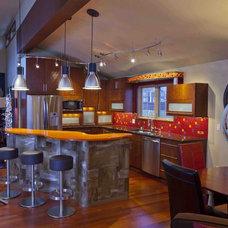 Contemporary Kitchen by Kitchen & Bath ReStylers