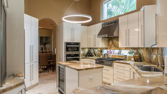Contmporary Kitchen-West Delray