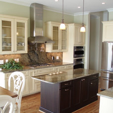 Eclectic Kitchen by Tongue & Groove
