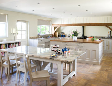 Converted Malthouse: artisan-built kitchen