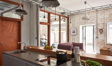 Kitchen Tour: A Devon Warehouse Brought Back to Life