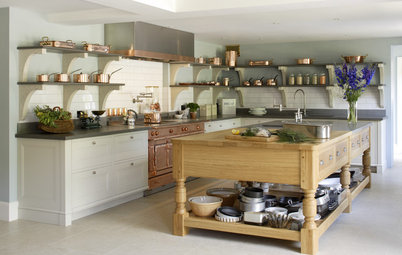 A Modern Kitchen Inspired by Edwardian Style