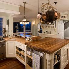 Traditional Kitchen by Richard Landon Design