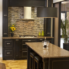 Contemporary Kitchen by Ideal Cabinetry Design