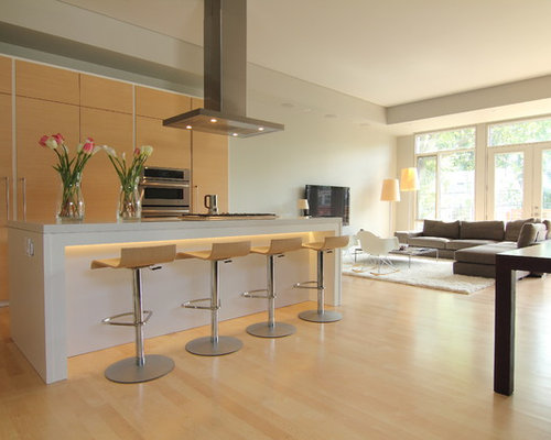 Maple Floors on contemporary interior design