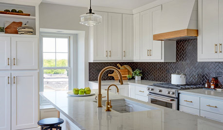 Kitchen of the Week: White Cabinets and an Open Layout