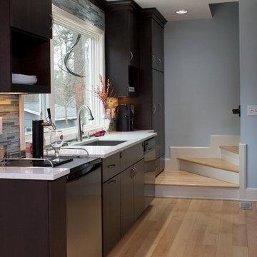 Cool Contemporary Durham Kitchen