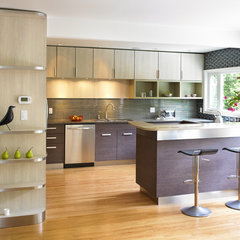 modern kitchen by The Sky is the Limit Design